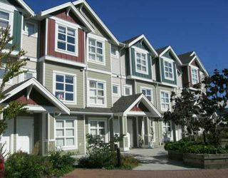 "Photo 1: 13028 NO 2 Road in Richmond: Gilmore Townhouse for sale in ""WATERSIDE VILLAGE"" : MLS®# V610582"