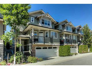 """Photo 1: 8 11720 COTTONWOOD Drive in Maple Ridge: Cottonwood MR Townhouse for sale in """"COTTONWOOD GREEN"""" : MLS®# V1139927"""