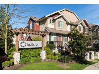 "Photo 1: 5 3009 156 Street in Surrey: Grandview Surrey Townhouse for sale in ""KALLISTO"" (South Surrey White Rock)  : MLS®# R2055286"