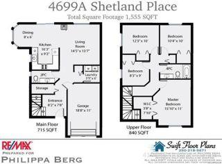 Photo 2: A 4699 SHETLAND PLACE in COURTENAY: CV Courtenay East Half Duplex for sale (Comox Valley)  : MLS®# 734537