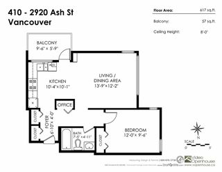 "Photo 16: 410 2920 ASH Street in Vancouver: Fairview VW Condo for sale in ""Ash Court"" (Vancouver West)  : MLS®# R2191803"