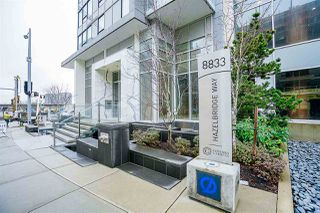 Photo 2: 1807 8833 HAZELBRIDGE Way in Richmond: West Cambie Condo for sale : MLS®# R2236837