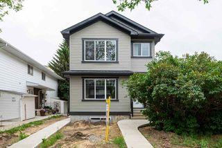 Main Photo: 8513 83 Avenue in Edmonton: Zone 18 House Half Duplex for sale : MLS®# E4118211