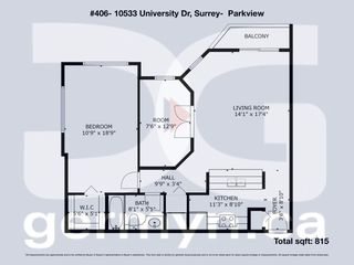 "Photo 16: 406 10533 UNIVERSITY Drive in Surrey: Whalley Condo for sale in ""Parkview"" (North Surrey)  : MLS®# R2300416"