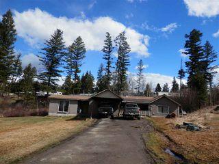 Main Photo: 824 DOG CREEK Road in Williams Lake: Esler/Dog Creek House for sale (Williams Lake (Zone 27))  : MLS®# R2359409
