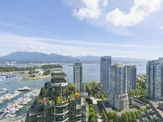 """Photo 8: 3507 1328 W PENDER Street in Vancouver: Coal Harbour Condo for sale in """"Classico"""" (Vancouver West)  : MLS®# R2377546"""