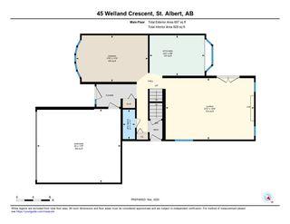 Photo 29: 45 WELLAND Crescent: St. Albert House for sale : MLS®# E4190575