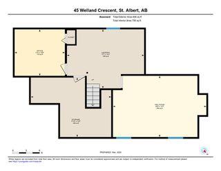 Photo 31: 45 WELLAND Crescent: St. Albert House for sale : MLS®# E4190575