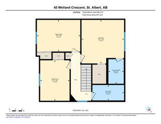 Photo 30: 45 WELLAND Crescent: St. Albert House for sale : MLS®# E4190575