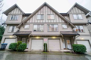 "Photo 1: 65 15175 62A Avenue in Surrey: Sullivan Station Townhouse for sale in ""Brooksland"" : MLS®# R2526779"