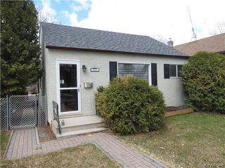 Photo 1: 805 Weatherdon Avenue in WINNIPEG: Manitoba Other Residential for sale : MLS®# 1409357