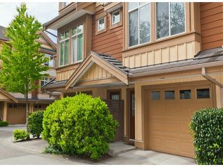 "Photo 1: 51 15151 34 Avenue in Surrey: Morgan Creek Townhouse for sale in ""SERENO"" (South Surrey White Rock)  : MLS®# F1412695"
