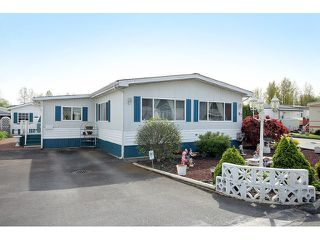 Photo 1: 97 3300 HORN Street in Abbotsford: Central Abbotsford Manufactured Home for sale : MLS®# F1436909