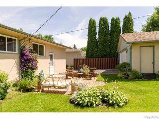 Photo 20: 145 Browning Boulevard in WINNIPEG: Westwood / Crestview Residential for sale (West Winnipeg)  : MLS®# 1515356