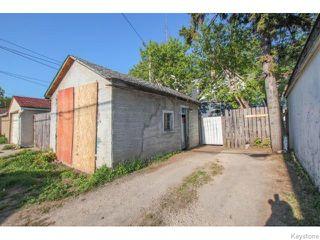 Photo 17: 738 Home Street in Winnipeg: West End / Wolseley Residential for sale (West Winnipeg)  : MLS®# 1613426