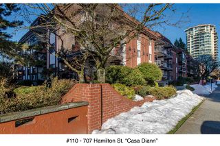 """Photo 20: 110 707 HAMILTON Street in New Westminster: Uptown NW Condo for sale in """"Casa Diann"""" : MLS®# R2130307"""