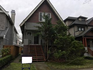 Main Photo: 724 W 19TH Avenue in Vancouver: Cambie House for sale (Vancouver West)  : MLS®# R2150868