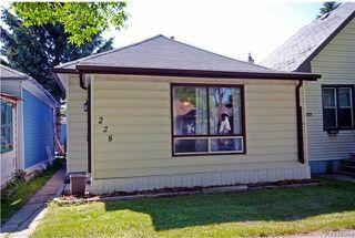 Main Photo: 228 marjorie Street in Winnipeg: St James Residential for sale (5E)  : MLS®# 1718288