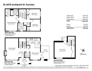 Photo 20: 52 6878 SOUTHPOINT Drive in Burnaby: South Slope Townhouse for sale (Burnaby South)  : MLS®# R2291534