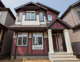 Main Photo: 2660 MAPLE Way in Edmonton: Zone 30 House for sale : MLS®# E4131121