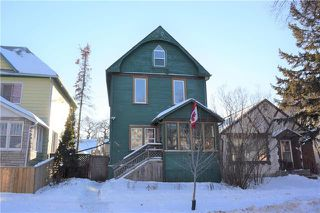 Main Photo: 342 Boyd Avenue in Winnipeg: North End Residential for sale (4A)  : MLS®# 1901381