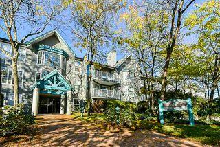 """Photo 1: 107 15110 108 Avenue in Surrey: Guildford Condo for sale in """"River Pointe"""" (North Surrey)  : MLS®# R2395559"""