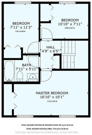 Photo 49: 16214 109 Street in Edmonton: Zone 27 House Half Duplex for sale : MLS®# E4181966