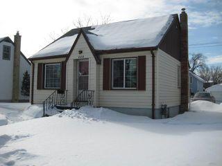 Photo 1: 228 MELBOURNE Avenue in WINNIPEG: East Kildonan Residential for sale (North East Winnipeg)  : MLS®# 1103915