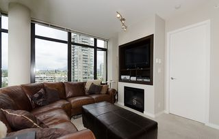 "Photo 4: 1404 2345 MADISON Avenue in Burnaby: Brentwood Park Condo for sale in ""OMA"" (Burnaby North)  : MLS®# V922548"