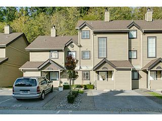 "Photo 1: # 27 2736 ATLIN PL in Coquitlam: Coquitlam East Townhouse for sale in ""CEDAR GREEN"" : MLS®# V1034777"