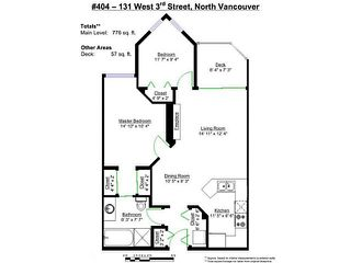 "Photo 20: 404 131 W 3RD Street in North Vancouver: Lower Lonsdale Condo for sale in ""Seascape Landing"" : MLS®# V1044034"