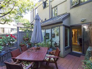 "Photo 5: 809 SAWCUT Street in Vancouver: False Creek Townhouse for sale in ""HEATHER POINT"" (Vancouver West)  : MLS®# V1086722"