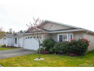 Photo 1: 41 7570 Tetayut Rd in SAANICHTON: CS Hawthorne Manufactured Home for sale (Central Saanich)  : MLS®# 707595