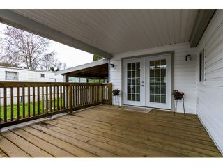 "Photo 3: 35 201 CAYER Street in Coquitlam: Maillardville Manufactured Home for sale in ""WILDWOOD PARK"" : MLS®# R2042526"