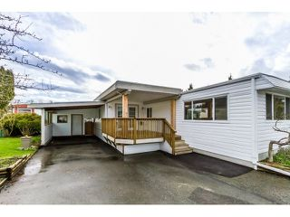 "Photo 1: 35 201 CAYER Street in Coquitlam: Maillardville Manufactured Home for sale in ""WILDWOOD PARK"" : MLS®# R2042526"