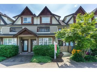 "Photo 1: 50 7155 189 Street in Surrey: Clayton Townhouse for sale in ""BACARA"" (Cloverdale)  : MLS®# R2062840"