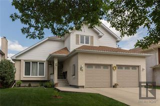 Photo 1: 10 Kinrade Place in Winnipeg: Charleswood Residential for sale (1G)  : MLS®# 1820260