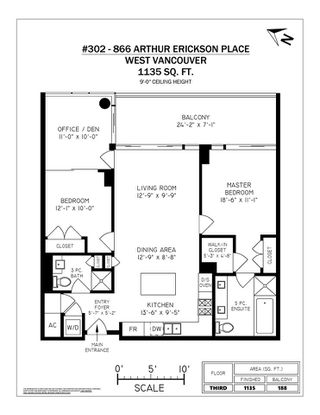 "Photo 20: 302 866 ARTHUR ERICKSON Place in West Vancouver: Park Royal Condo for sale in ""EVELYN"" : MLS®# R2298787"
