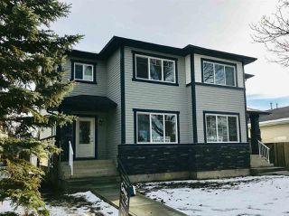Main Photo: 10313 152 Street in Edmonton: Zone 21 House Half Duplex for sale : MLS®# E4136105