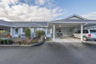 "Photo 1: 258 7610 EVANS Road in Chilliwack: Sardis West Vedder Rd Townhouse for sale in ""Cottonwood Retirement Village"" (Sardis)  : MLS®# R2360162"