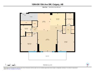 Photo 32: 1206 836 15 Avenue SW in Calgary: Beltline Condo for sale : MLS®# C4241150