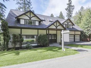 "Photo 1: 5495 KEITH Road in West Vancouver: Caulfeild House for sale in ""Past Montiverdi Estates"" : MLS®# R2363990"