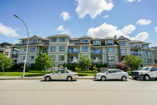 "Photo 1: 406 8142 120A Street in Surrey: Queen Mary Park Surrey Condo for sale in ""Sterling Court"" : MLS®# R2381590"