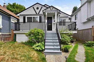 "Main Photo: 5078 ST. CATHERINES Street in Vancouver: Fraser VE House for sale in ""KENSINGTON PLACE"" (Vancouver East)  : MLS®# R2382132"