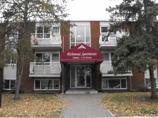Photo 1: 202 10644 113 Street in Edmonton: Zone 08 Condo for sale : MLS®# E4178973