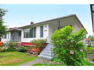 Photo 1: 5851 MCKINNON Street in Vancouver: Killarney VE House for sale (Vancouver East)  : MLS®# V891498