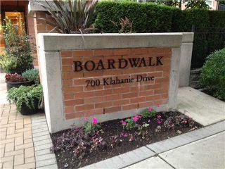 "Photo 2: 112 700 KLAHANIE Drive in Port Moody: Port Moody Centre Condo for sale in ""THE BOARDWALK"" : MLS®# V1057055"