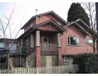 Photo 1: 2388 TRUTCH Street in Vancouver: Kitsilano House 1/2 Duplex for sale (Vancouver West)  : MLS®# V1124635