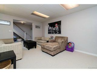 Photo 19: 30 Hawkins Crescent in WINNIPEG: St Vital Residential for sale (South East Winnipeg)  : MLS®# 1516347
