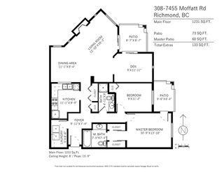 """Photo 18: 308 7455 MOFFATT Road in Richmond: Brighouse South Condo for sale in """"Colony Bay"""" : MLS®# R2144299"""
